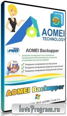 AOMEI Backupper Professional / Technician / Technician Plus / Server 5.3.0 DC 08.10.2019 + Rus