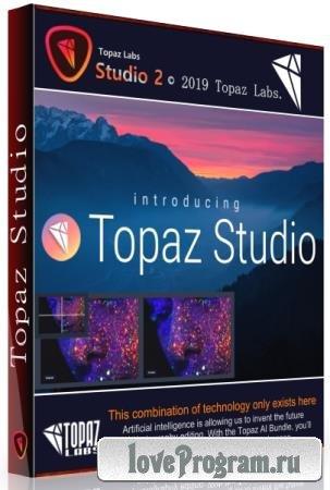 Topaz Studio 2.2.0 RePack & Portable by TryRooM