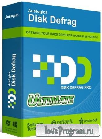 Auslogics Disk Defrag Ultimate 4.11.0.4 RePack & Portable by KpoJIuK