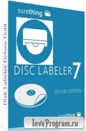 SureThing Disk Labeler Deluxe Gold 7.0.95.0