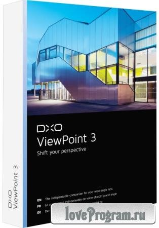 DxO ViewPoint 3.1.15 Build 285