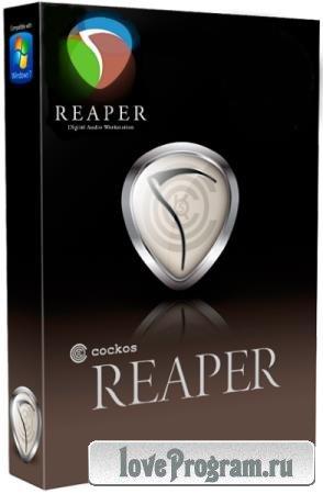 Cockos REAPER 6.02 + Rus + Portable