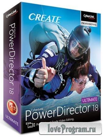CyberLink PowerDirector Ultimate 18.0.2405.0 RePack by PooShock