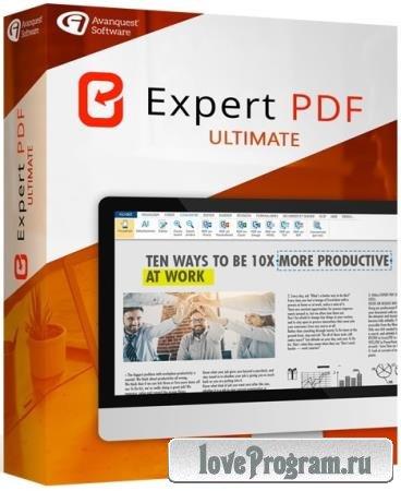 Avanquest eXpert PDF Ultimate 14.0.28.3456