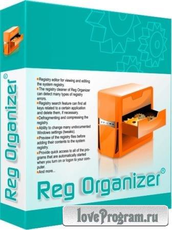 Reg Organizer 8.43 Final RePack & Portable by KpoJIuK