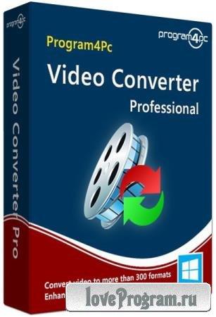 Program4Pc Video Converter Pro 10.6 RePack & Portable by elchupakabra