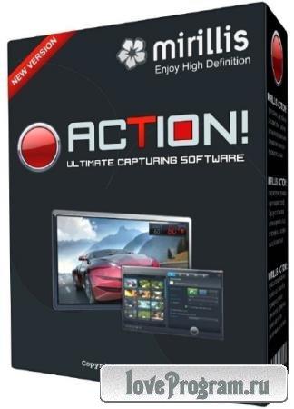 Mirillis Action! 4.1.1 RePack & Portable by KpoJIuK