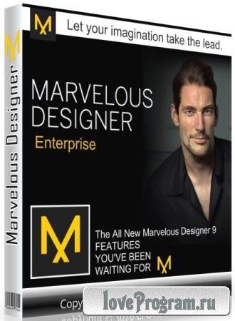 Marvelous Designer 9 Enterprise 5.1.381.28577