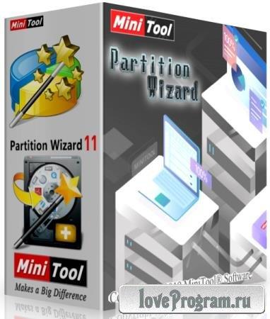 MiniTool Partition Wizard Technician 11.6 + Rus