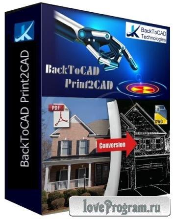 BackToCAD Print2CAD 2021 21.35
