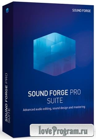 MAGIX Sound Forge Pro Suite 14.0.0.33 RePack by PooShock