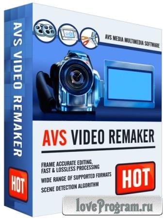 AVS Video ReMaker 6.3.3.237