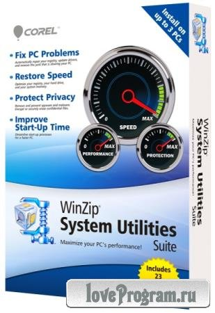 WinZip System Utilities Suite 3.9.0.24 Final