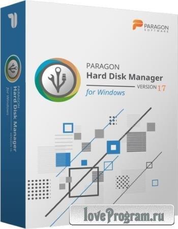 Paragon Hard Disk Manager 17 Advanced 17.13.1