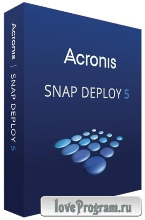 Acronis Snap Deploy 5.0.2003 + Bootable ISO