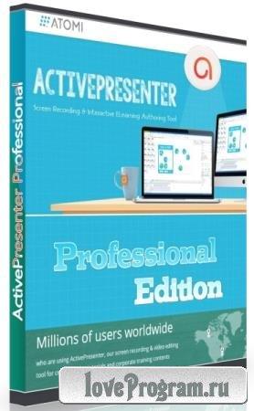 ActivePresenter Professional Edition 8.0.5
