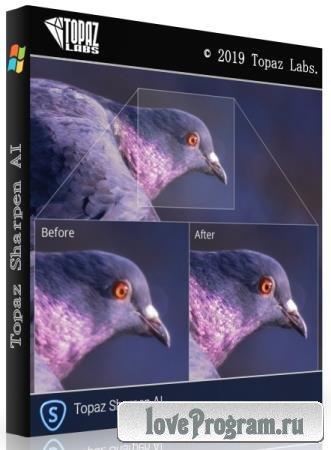 Topaz Sharpen AI 2.0.5 RePack & Portable by elchupakabra