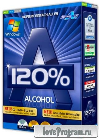 Alcohol 120% 2.1.0 Build 30316 Final Retail