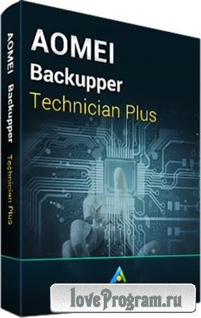 AOMEI Backupper 5.7.0 Technician Plus RePack by KpoJIuK