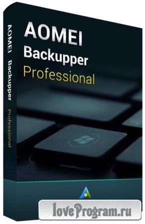 AOMEI Backupper Professional Edition 5.7.0 + Rus