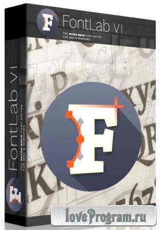 FontLab 7.1.2.7432