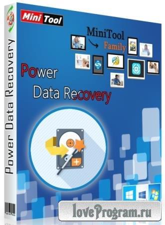 MiniTool Power Data Recovery 8.8 RePack & Portable by elchupakabra