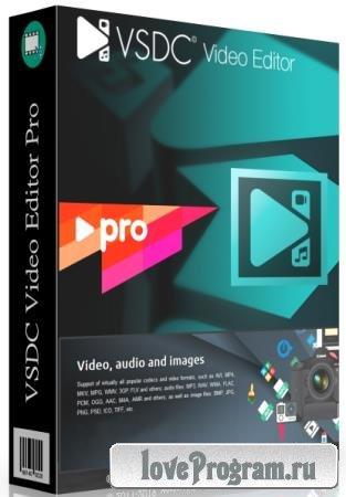 VSDC Video Editor Pro 6.4.6.143/142