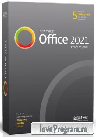 SoftMaker Office Professional 2021 Rev S1014.0529