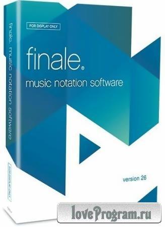 MakeMusic Finale 26.3.1.520