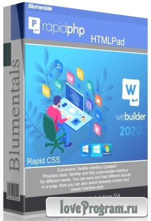 Blumentals HTMLPad / Rapid CSS / Rapid PHP / WeBuilder 2020 16.2.0.228