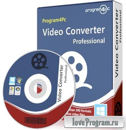 Program4Pc Video Converter Pro 10.8