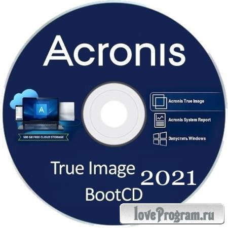 Acronis True Image 2021 Build 30290 Final BootCD