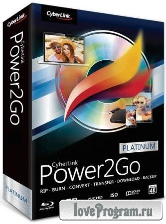 CyberLink Power2Go Platinum 13.0.2024.0 + Rus
