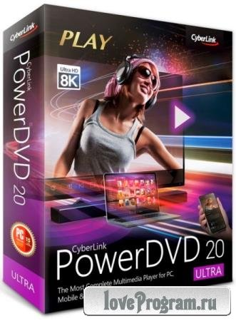 CyberLink PowerDVD Ultra 20.0.2101.62