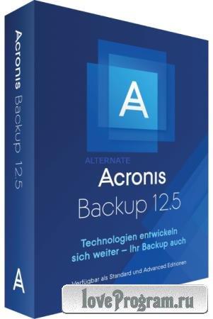 Acronis Cyber Backup 12.5.16363 BootCD