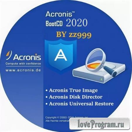 Acronis BootCD 2020 by zz999 2020.10