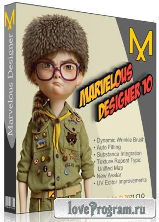 Marvelous Designer 10 Personal 6.0.351.32317