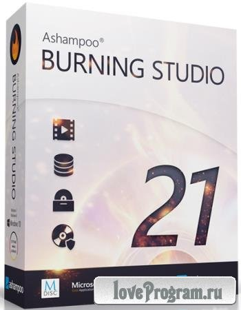 Ashampoo Burning Studio 21.7.1.65 Final + Portable