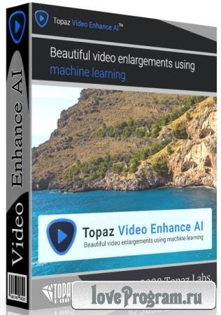 Topaz Video Enhance AI 1.9.0 RePack & Portable by TryRooM