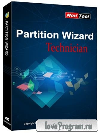 MiniTool Partition Wizard Technician 12.3.0 RePack by KpoJIuK + BootCD
