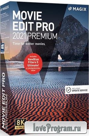 MAGIX Movie Edit Pro 2021 Premium 20.0.1.79 + Rus + Content