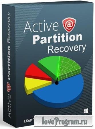 Active Partition Recovery Ultimate 21.0.2 + WINPE