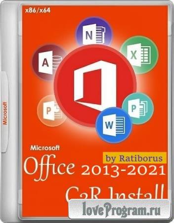 Office 2013-2021 C2R Install / Lite 7.1.6 Portable by Ratiborus