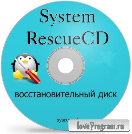 SystemRescueCd 8.00 Final