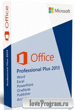 Microsoft Office 2013 Pro Plus SP1 15.0.5327.1000 VL RePack by SPecialiST v21.3