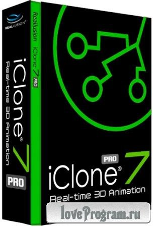 Reallusion iClone Pro 7.9.5124.1 RePack by PooShock + Resource Pack
