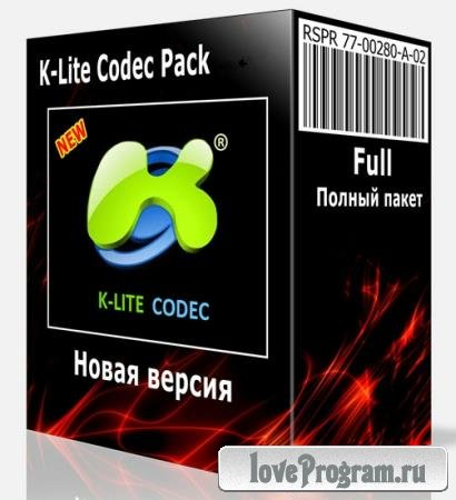 K-Lite Mega / Full / Basic / Standard / Codec Pack 16.1.2 + Update