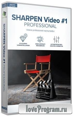 Franzis SHARPEN Video #1 professional 1.19.03607