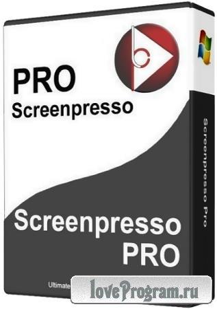 Screenpresso Pro 1.9.7.0 + Portable