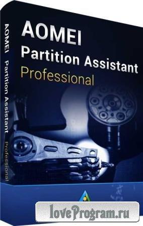 AOMEI Partition Assistant 9.2 Technician / Pro / Server / Unlimited + WinPE